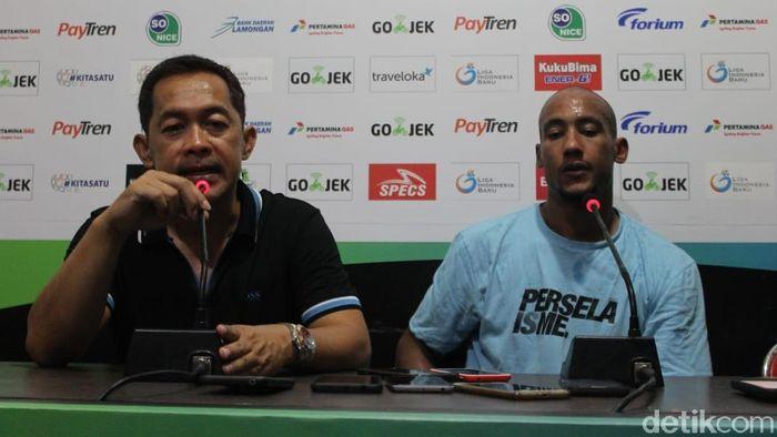 Pelatih Persela Lamongan, Aji Santoso. (Foto: Eko Sudjarwo/detikcom)
