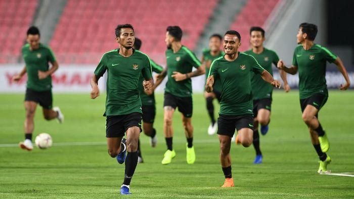 Timnas Indonesia gagal di Piala AFF 2018 karena kurang persiapan (Akbar Nugroho Gumay/ANTARA FOTO)