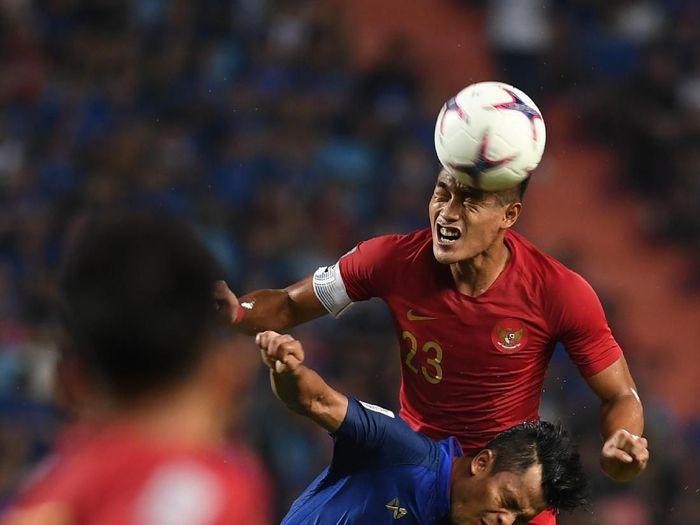 Indonesia dikalahkan Thailand dengan skor 2-4 (Akbar Nugroho Gumay/ANTARA FOTO)
