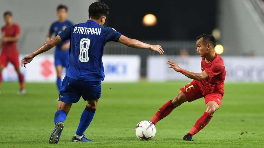 Indonesia Dibekap Thailand 2-4