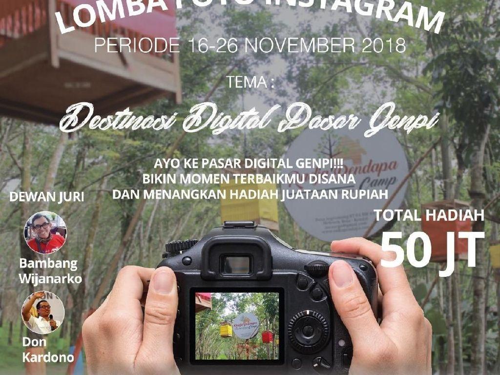 Gelar Lomba Foto Destinasi Digital, Kemenpar Hadiahkan Rp 50 Juta