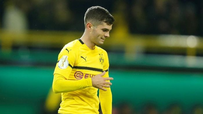 Chelsea merekrut Christian Pulisic dari Borussia Dortmund (Foto: Leon Kuegeler/Reuters)