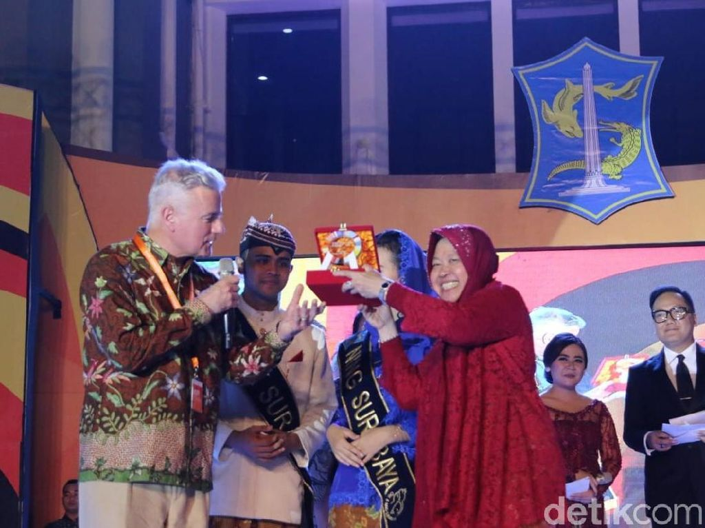 Risma Jamu Peserta Startup Nation Summit: Semoga Kembali ke Surabaya