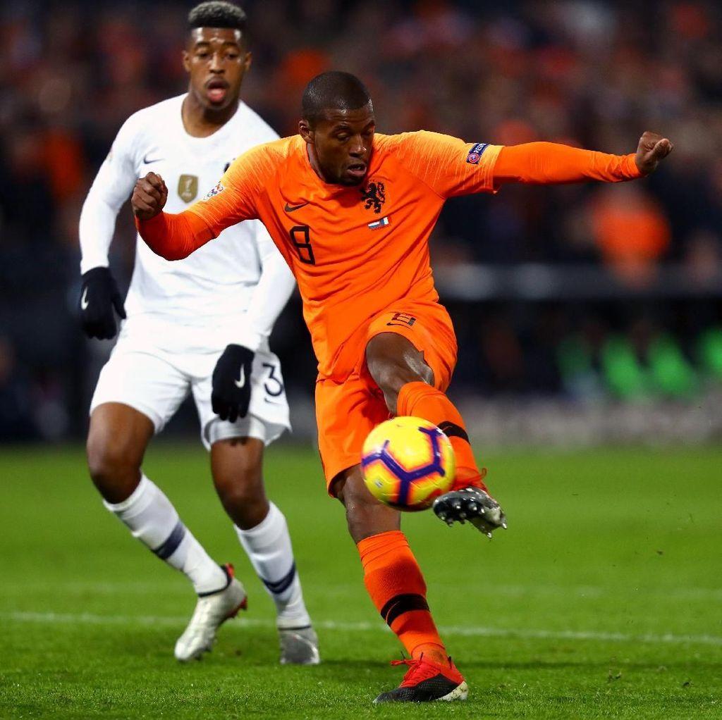 Hasil UEFA Nations League: Belanda Menang 2-0 atas Prancis