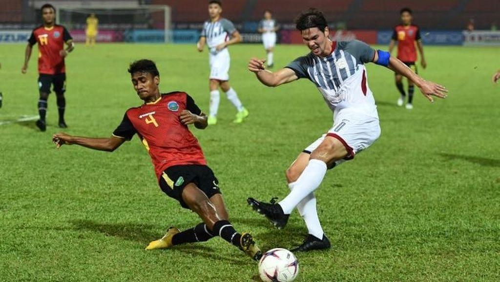 Hasil Piala AFF 2018: Filipina Kalahkan Timor Leste 3-2