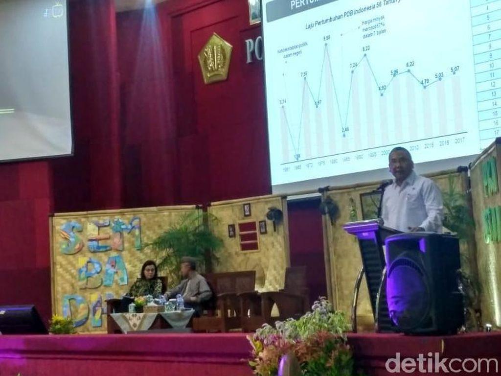 Sri Mulyani dan Eko Sandjojo Pidato di Depan Ratusan Mahasiswa STAN