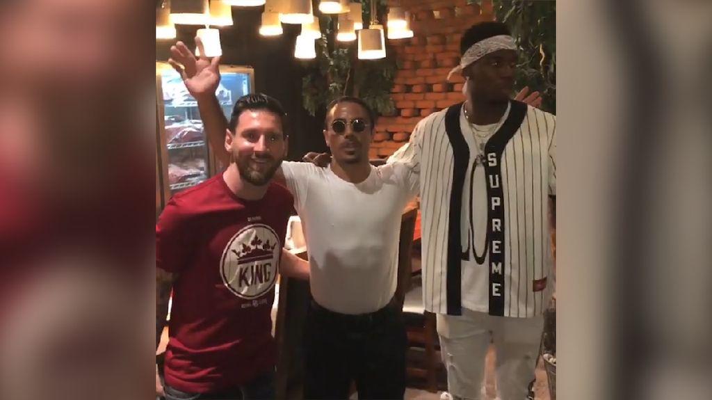 Video Pertemuan Pogba dan Messi di Luar Lapangan