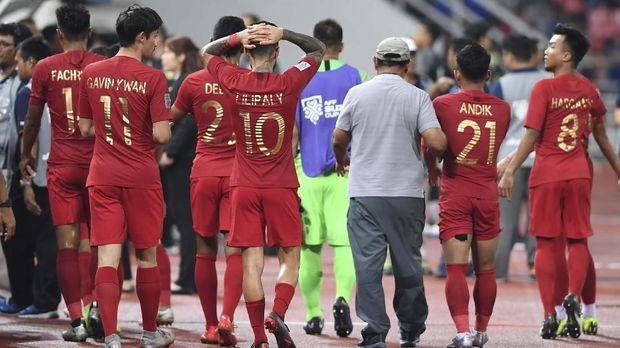Timnas Indonesia menelan dua kekalahan dari tiga laga yang telah dijalani.