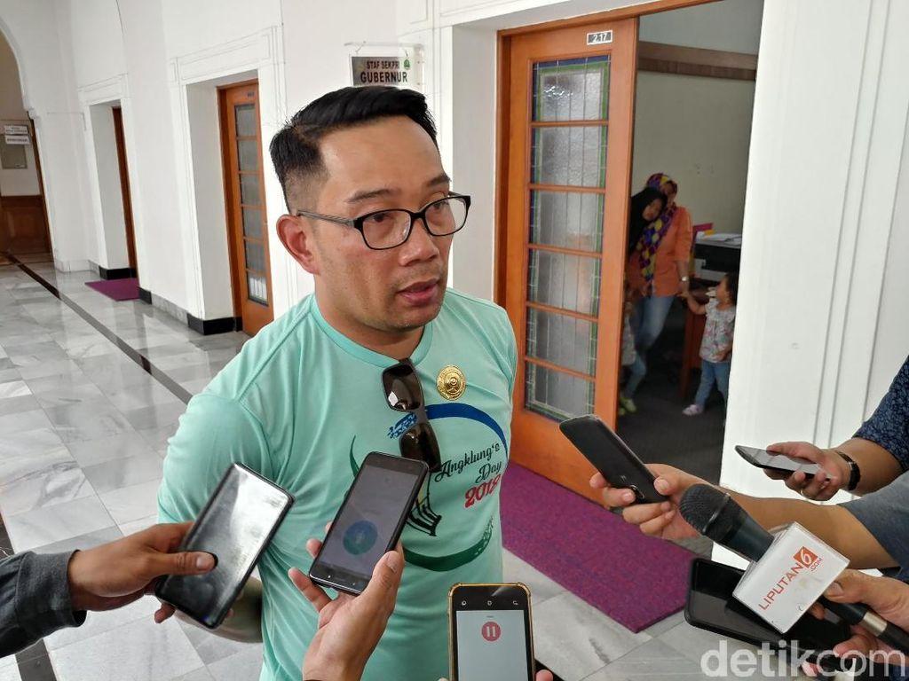 Ridwan Kamil Perintahkan Tanah Tak Berfungsi Ditanami Pohon Bambu