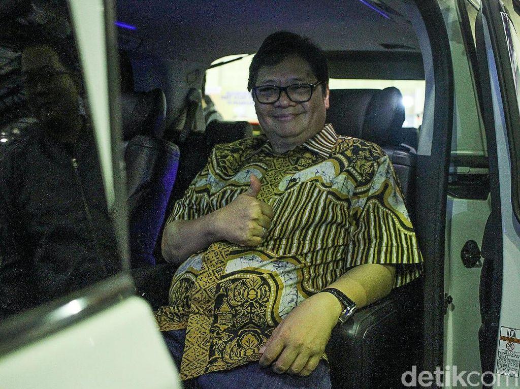 Airlangga Hartarto Kunjungi IMX 2018