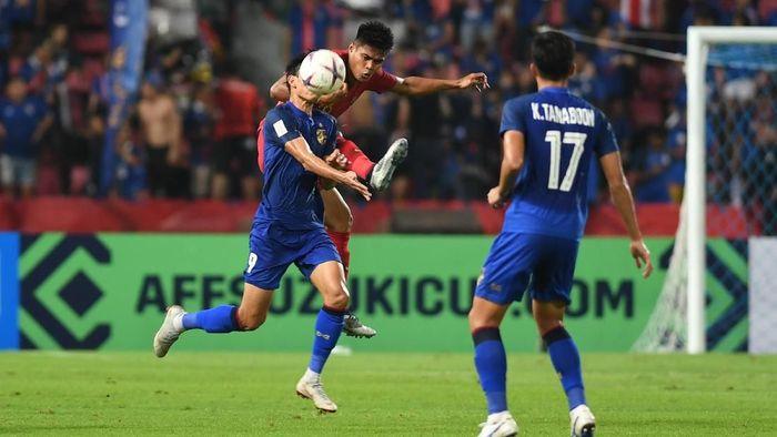 Timnas Thailand di Piala AFF 2018. (Foto: Akbar Nugroho Gumay/Antara)