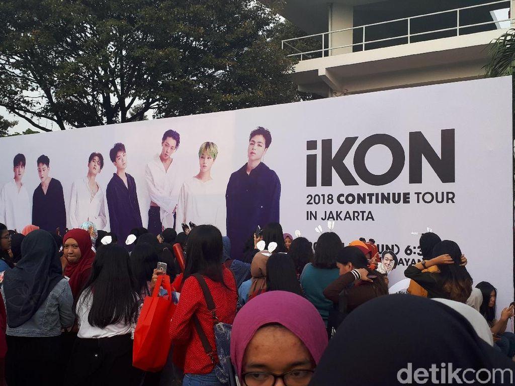 Tiket Sold Out, Antrean Konser iKON di Jakarta Sudah Mengular Sejak Pagi