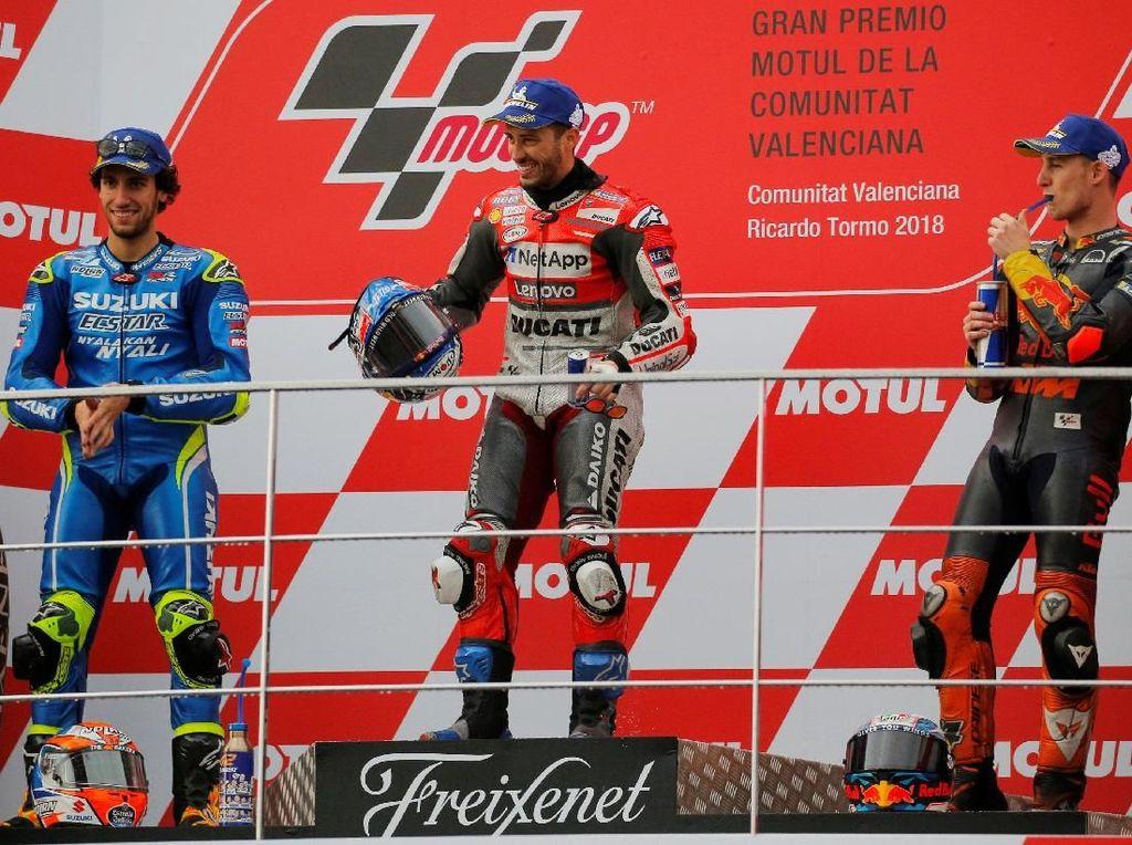 Hasil MotoGP Valencia