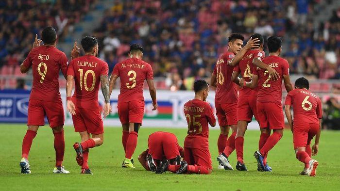 Timnas Indonesia tergabung di Grup G Pra Piala Dunia 2022 bersama Malaysia, Thailand, Vietnam, dan UEA. (Foto: ANTARA FOTO/Akbar Nugroho Gumay/kye)