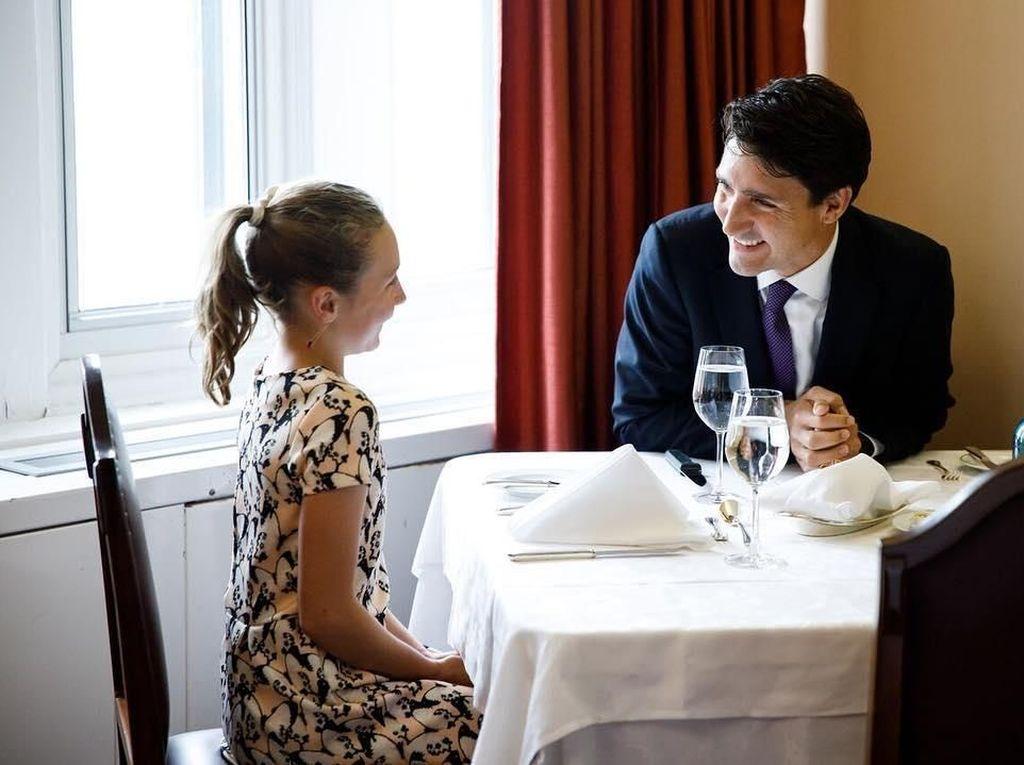 Justin Trudeau, PM Kanada yang Hobi Ngopi dan Jajan Es Krim