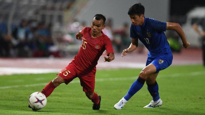 Indonesia dikalahkan Thailand 2-4 di Piala AFF 2018 (Foto: ANTARA FOTO/Akbar Nugroho Gumay/kye)