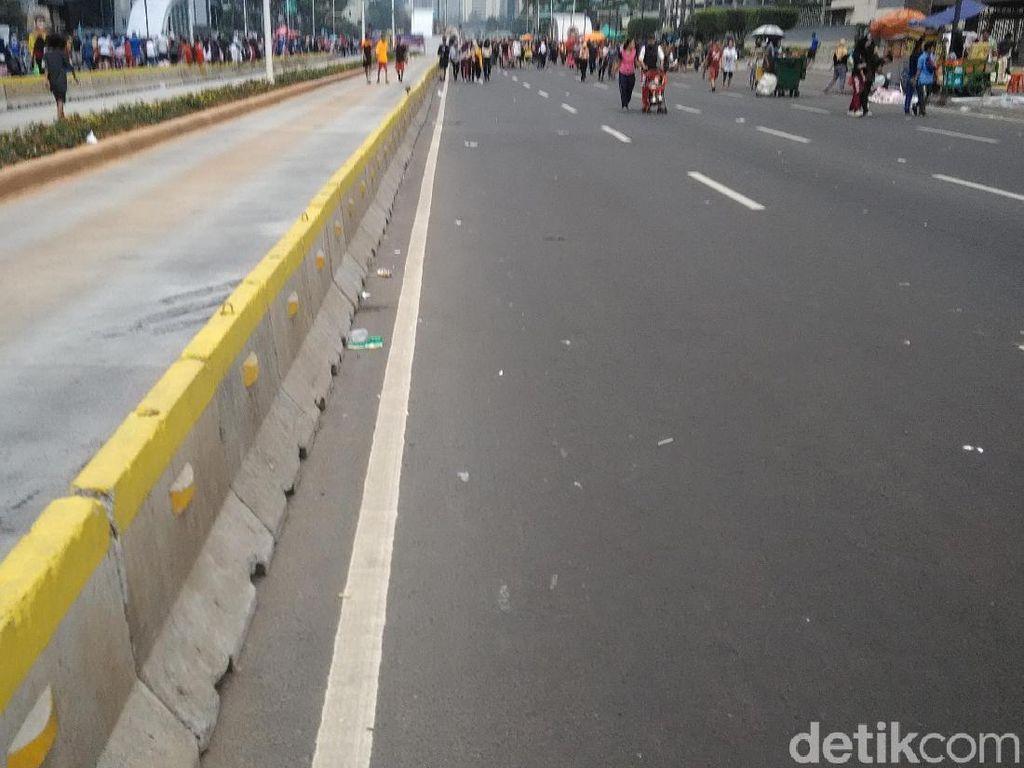 CFD di Sudirman-Thamrin Berjalan seperti Biasa di Bulan Puasa