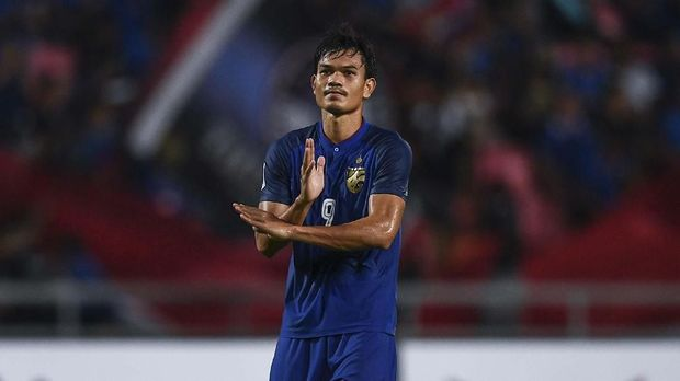 Adisak Kraisorn adalah calon pencetak gol terbanyak Piala AFF 2018.