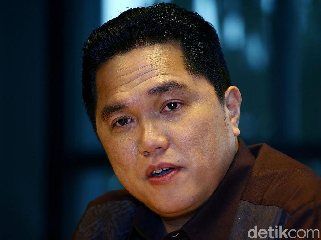 Erick Thohir Beri Bocoran Kriteria Dirut Holding Tambang
