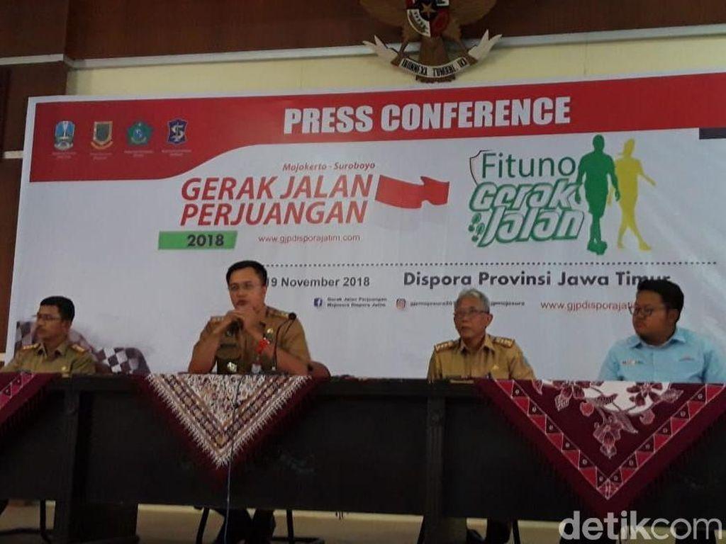 Gerak Jalan Mojokerto-Surabaya Digelar Desember, Ini Total Hadiahnya