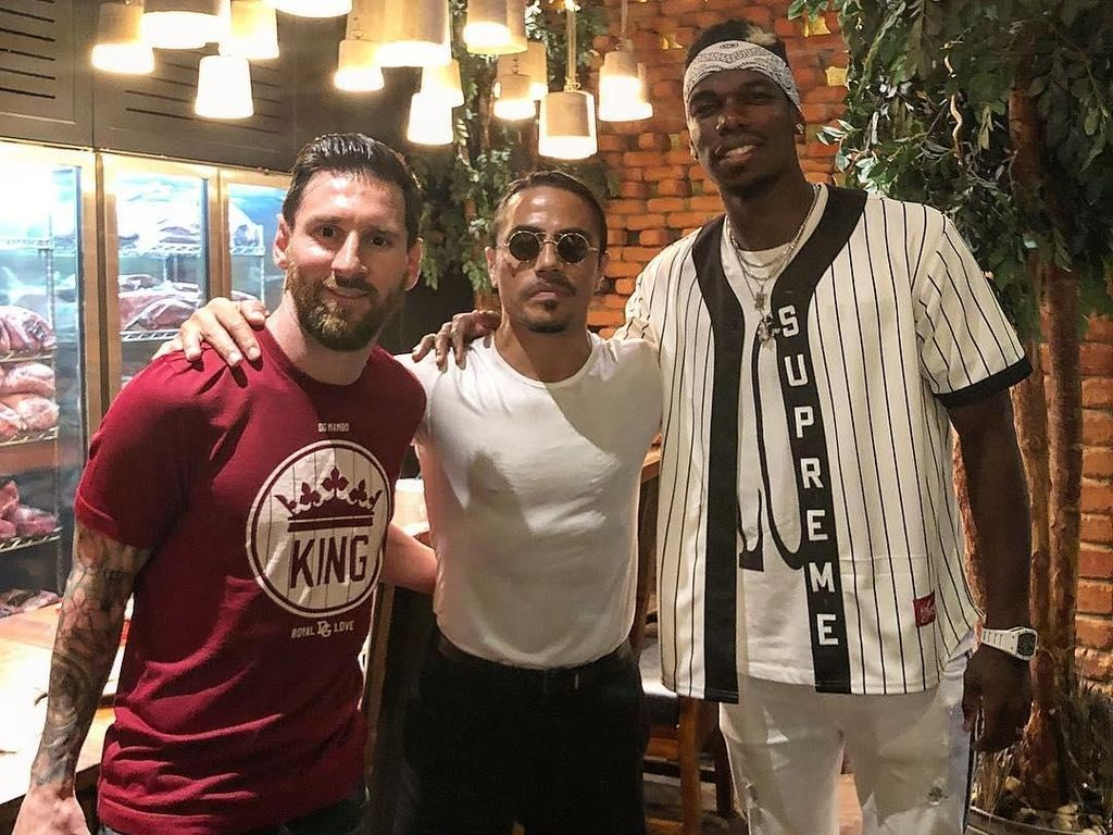 Ini Dia Menu Beefsteak yang Dinikmati Messi dan Pogba di Restoran Salt Bae