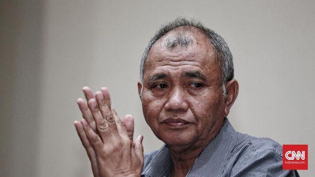 Ketua KPK Agus Rahardjo, di Jakarta, 18 November.