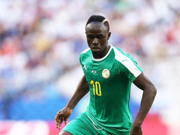 Sadio Mane disoraki suporter timnasnya sendiri (Maddie Meyer/Getty Images)