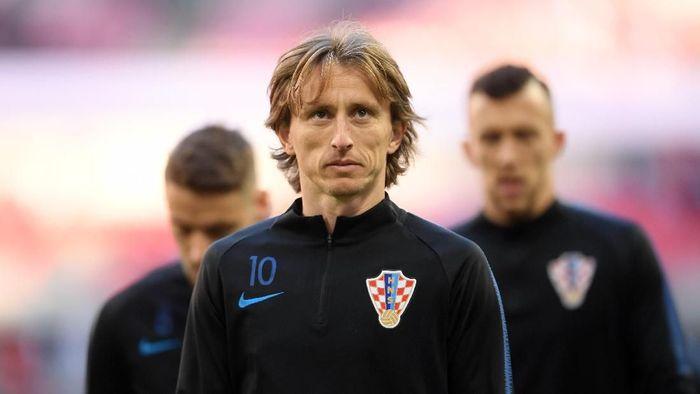 Luka Modric tak cemas dengan hasil Ballon dOr 2018. (Foto: Laurence Griffiths/Getty Images)