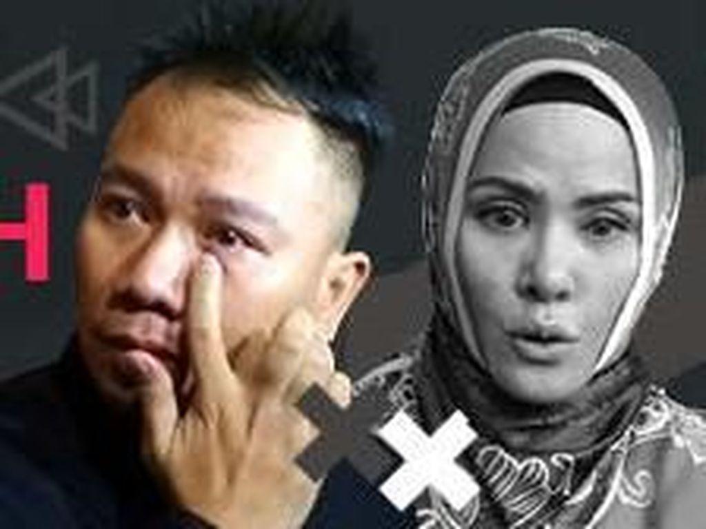 Pulang Liburan, Vicky Prasetyo Malah Dapat Surat Cerai (Lagi)
