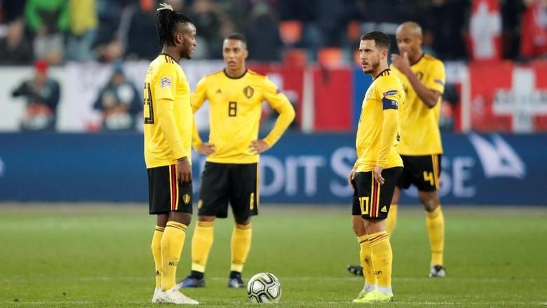 Penalti Swiss Sumber Malapetaka untuk Belgia