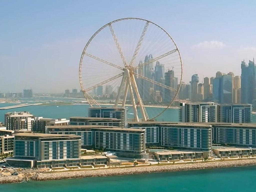 Wow, Dubai Punya Bianglala Terbesar Sedunia!