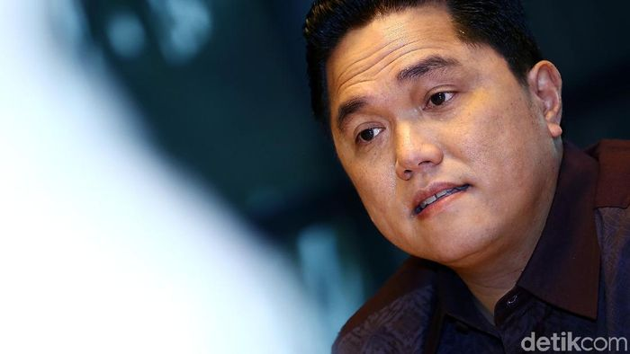 Erick Thohir, ketua KOI  (Muhammad Ridho/detikSport)