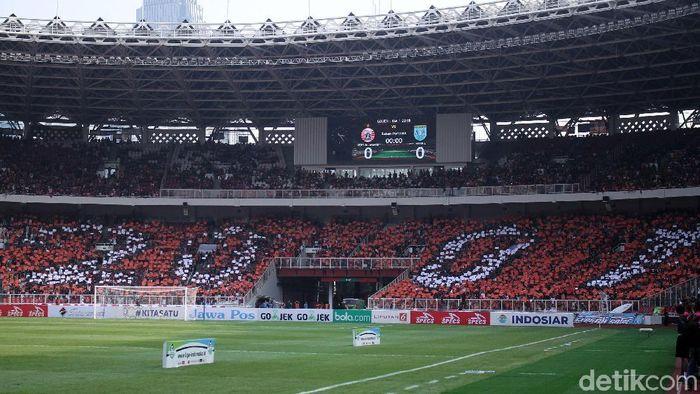 Stadion GBK saat menggelar pertandingan Persija Jakarta (Rifkianto Nugroho/detikSport)