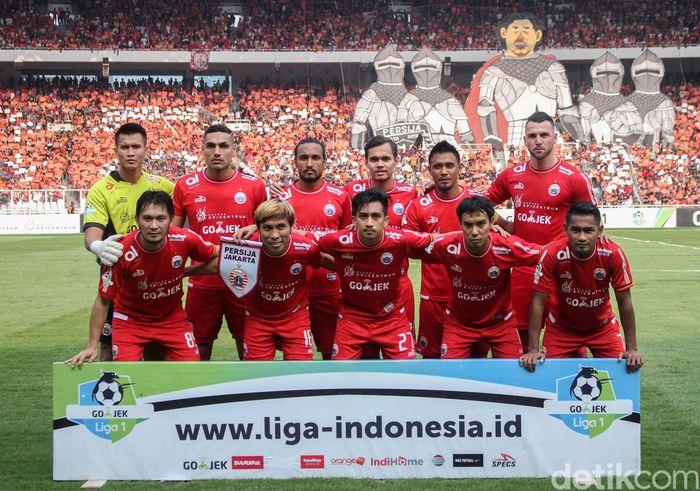 Persija Jakarta menurunkan pemain seperti Shahar, Orah, Maman, Jaimerson, Rezaldi, Asri, Ridwan, Chand, Novri, Ramdani, dan Simic.