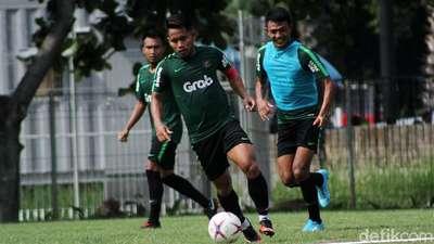 Timnas Indonesia Gelar Latihan Jelang Lawan Filipina