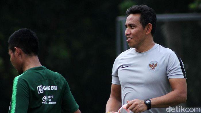 Bima Sakti sudah mulai persiapan tim untuk ke Kualifikasi Piala Asia U-16. (Foto: Rifkianto Nugroho)