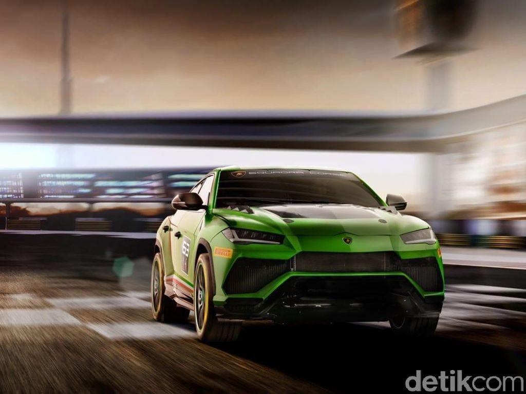 SUV Banteng Lamborghini Ikut Balapan