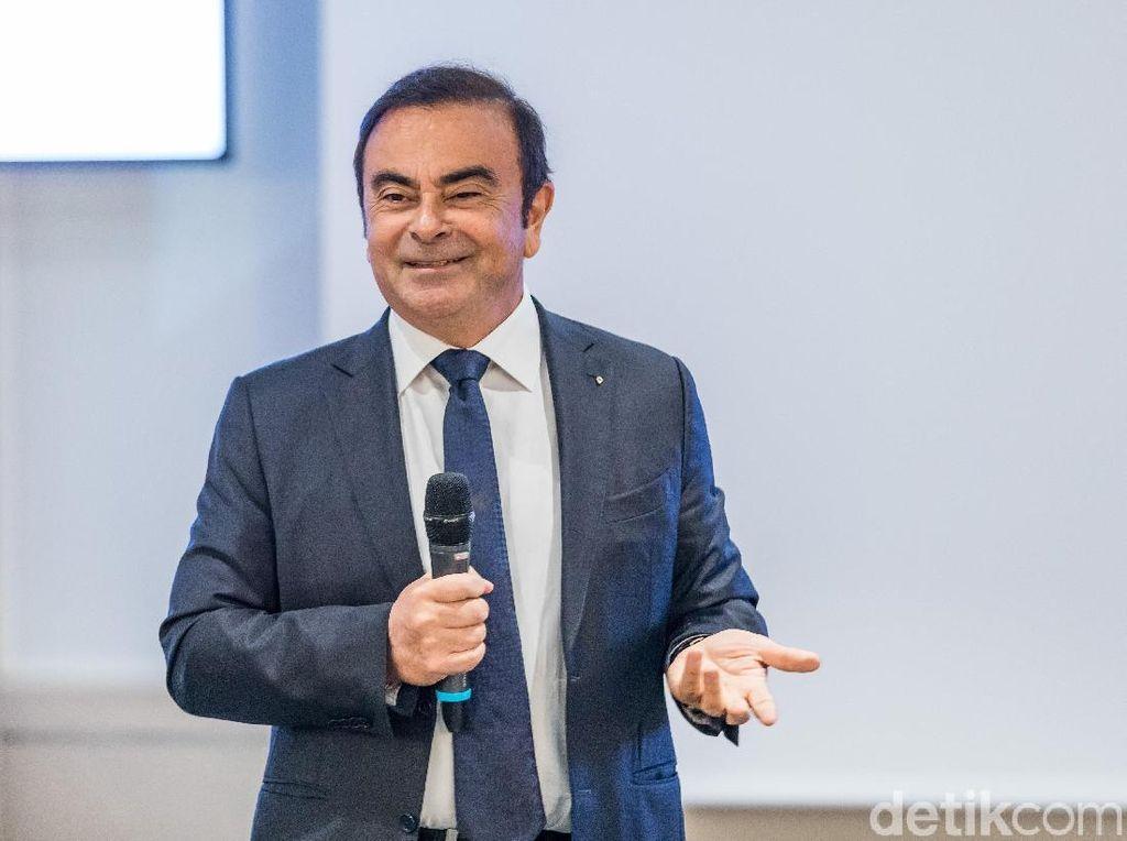 Nissan, Mitsubishi Copot Jabatan Carlos Ghosn