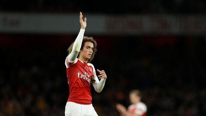 Pemain Arsenal, Matteo Matteo Guendouzi. (Foto: John Sibley/Reuters)