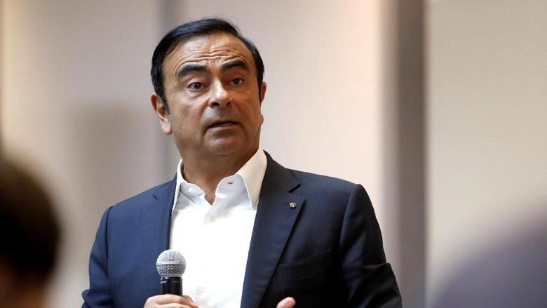 Carlos Ghosn Tuding Ada Orang di Nissan yang Ingin Menjatuhkannya