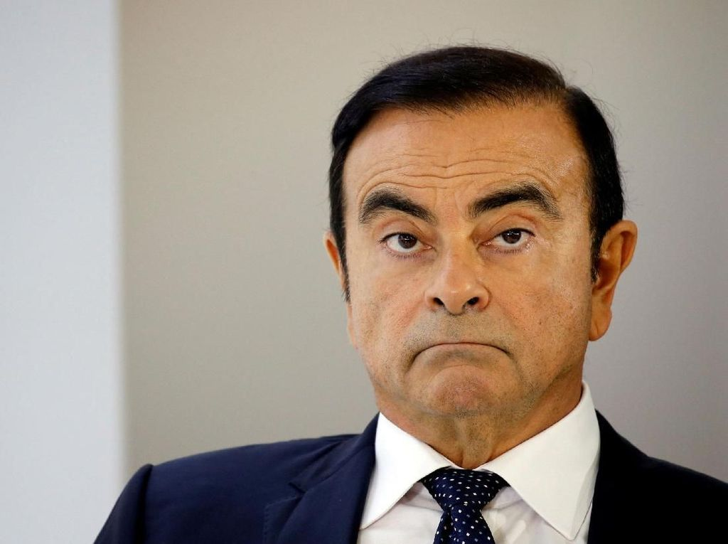 Carlos Ghosn Ditahan 10 Hari