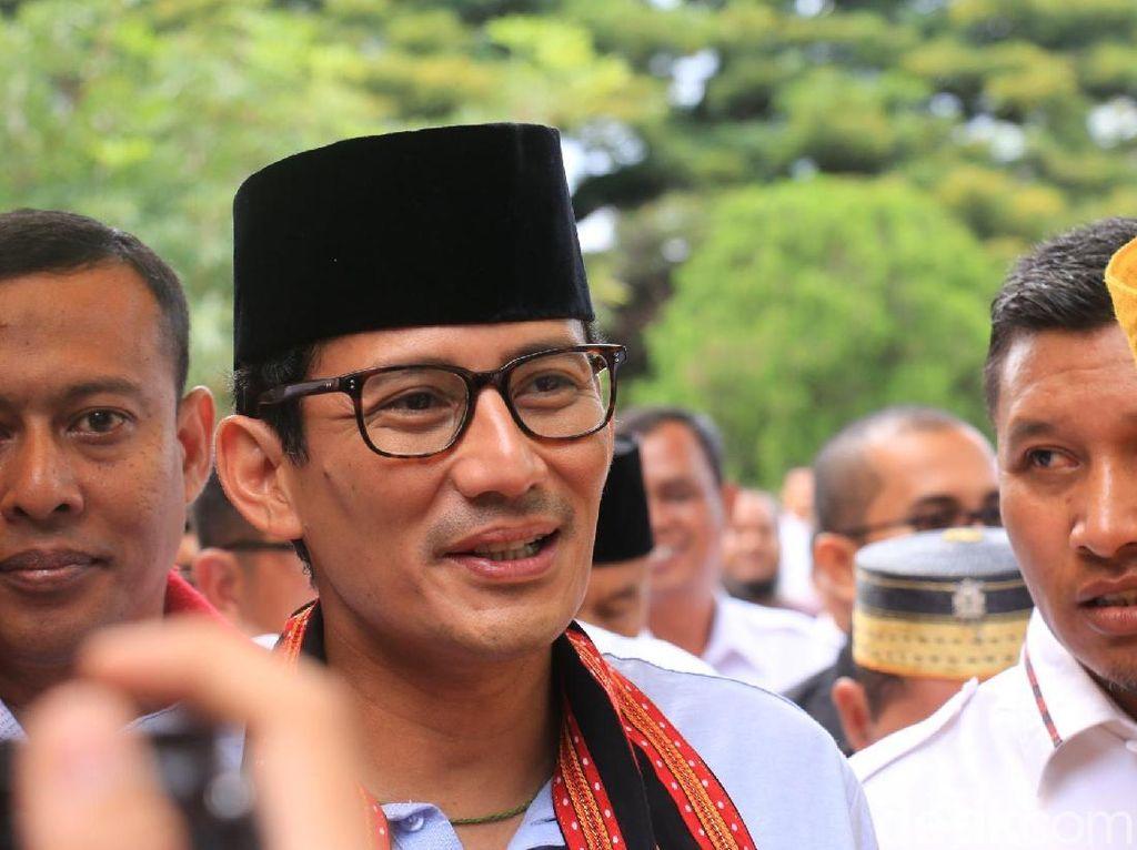 Sandiaga: Sangat Setuju PMP Dihidupkan Lagi