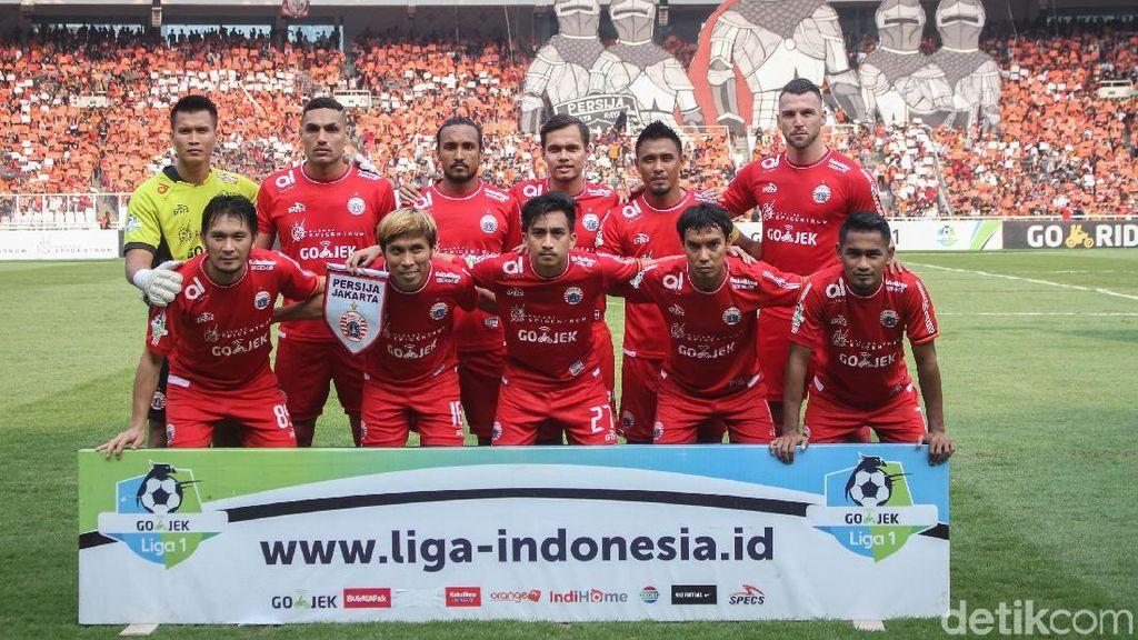 Hasil Liga 1 2018: Hajar Persela 3-0, Persija Pangkas Poin dengan PSM