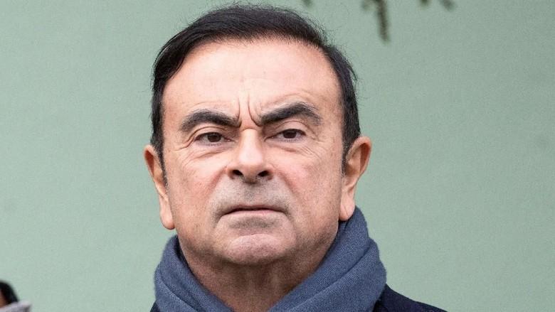 Mantan Bos Nissan Ditangkap Lagi!