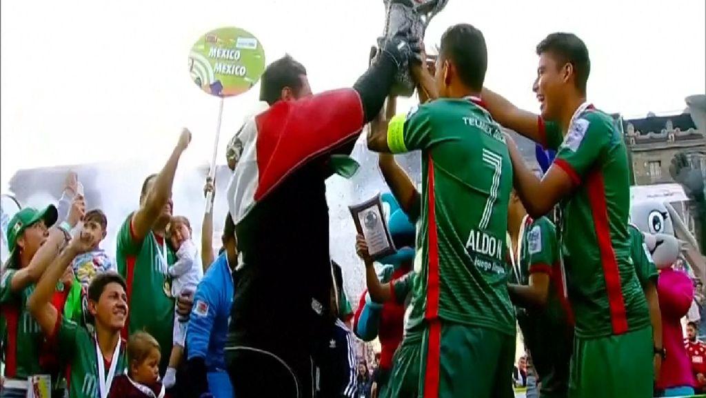 Meksiko Juara Piala Dunia Tunawisma 2018