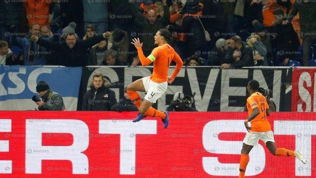 Hasil UEFA Nations League: Imbangi Jerman, Belanda Tembus Semifinal
