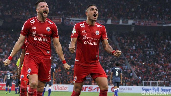 Marko Simic meminta Persija Jakarta tak memandang remeh Mitra Kukar di laga penentuan gelar juara Liga 1 (Rifkianto Nugroho)