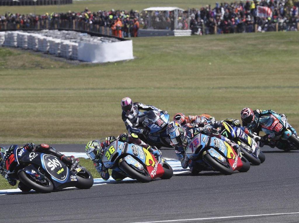 Mulai 2019, Kualifikasi Moto2 dan Moto3 Ikuti Format MotoGP