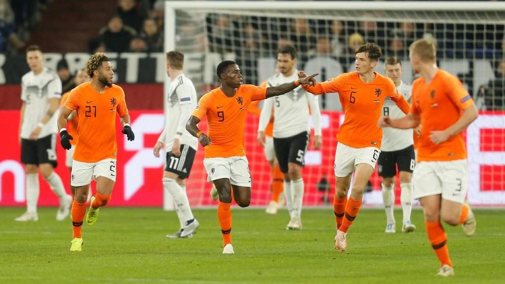 Hasil UEFA Nations League: Imbangi Jerman, Belanda Tembus Semifinal