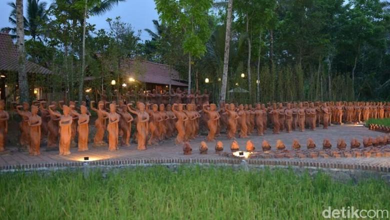 Taman Gandrung Terakota (Ardian Fanani/detikTravel)